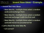 invent new ideas example