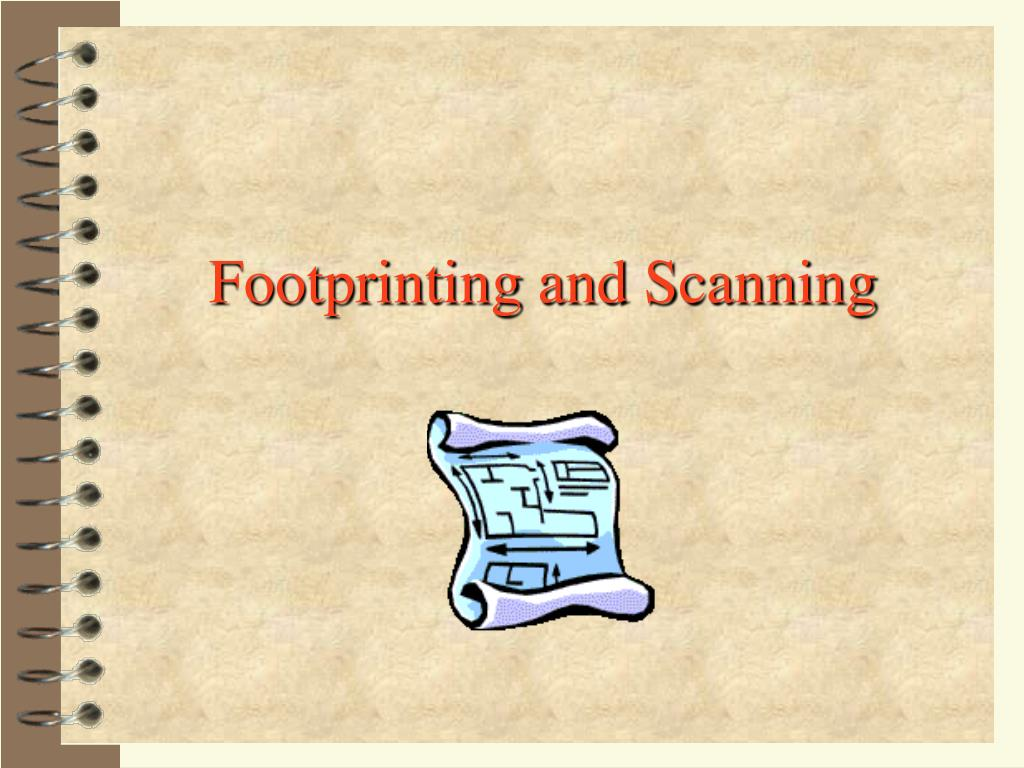 footprinting and scanning l.