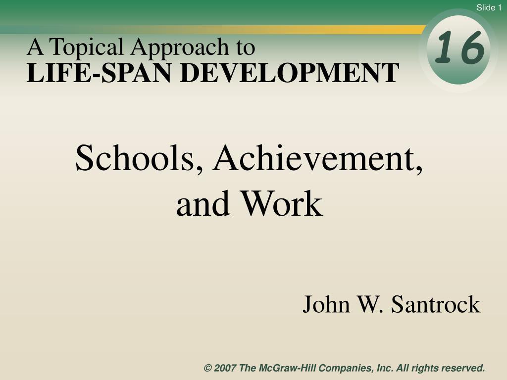 life span development l.