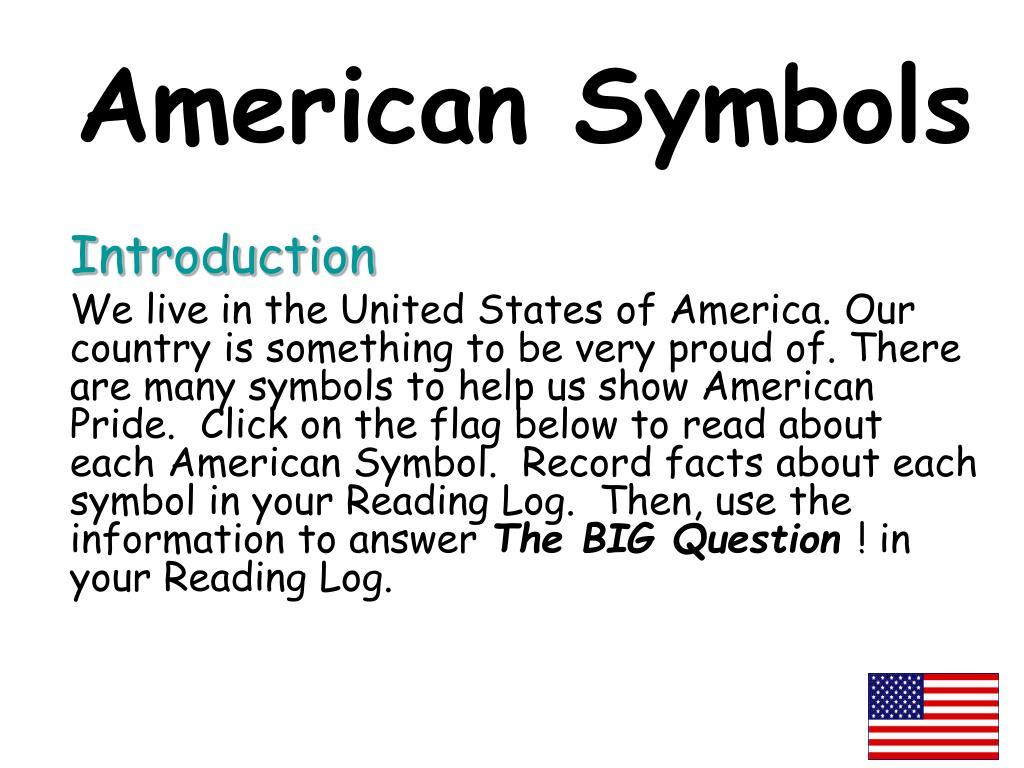 american symbols l.