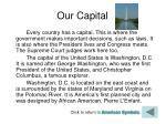 our capital