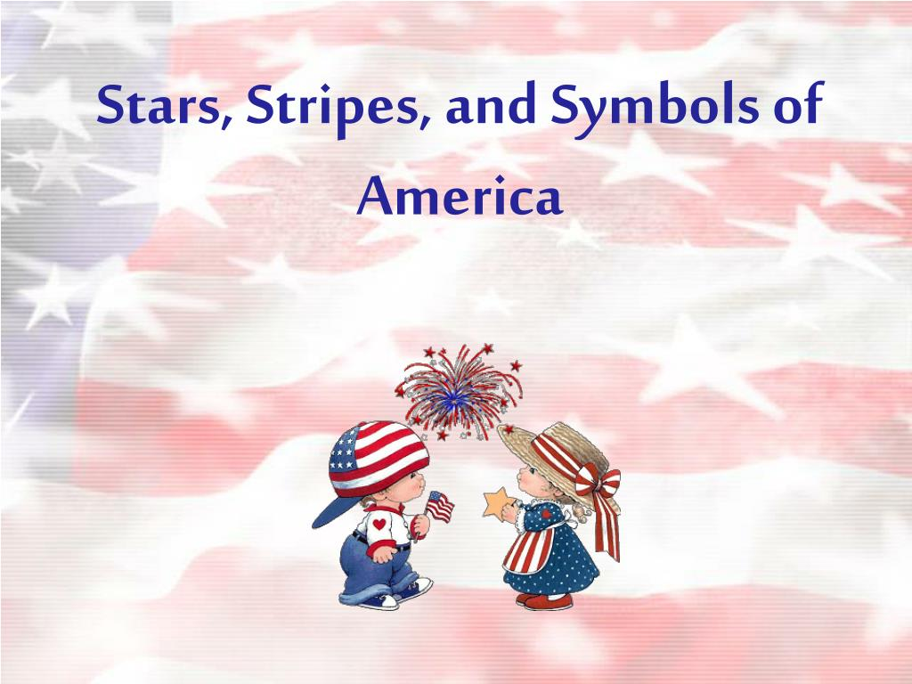 stars stripes and symbols of america l.