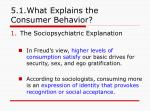 5 1 what explains the consumer behavior5
