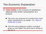 the economic explanation10