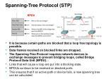 spanning tree protocol stp14