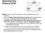 spanning tree protocol stp15