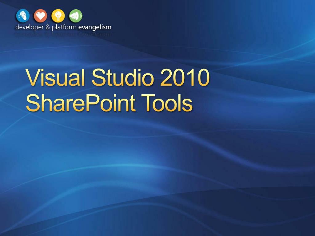 visual studio 2010 sharepoint tools l.
