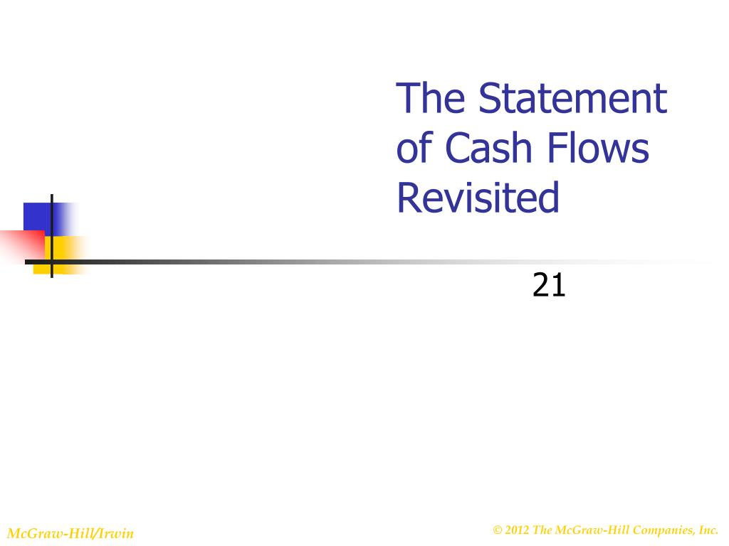 the statement of cash flows revisited l.