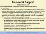 framework support7