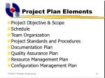 project plan elements