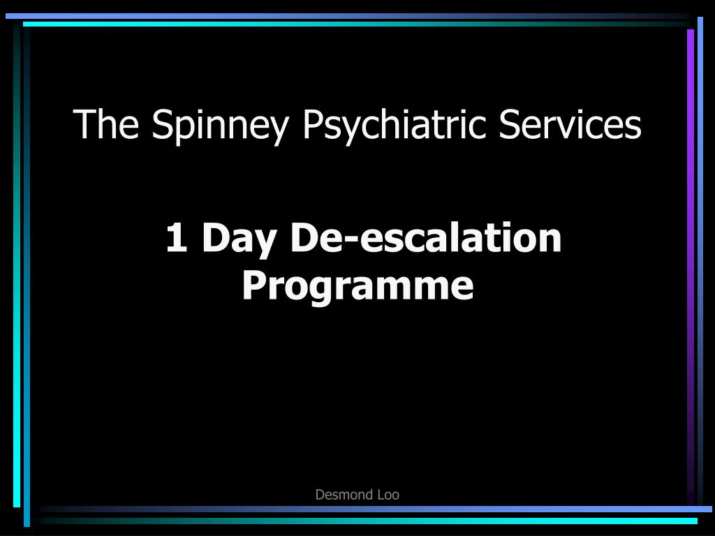 the spinney psychiatric services l.
