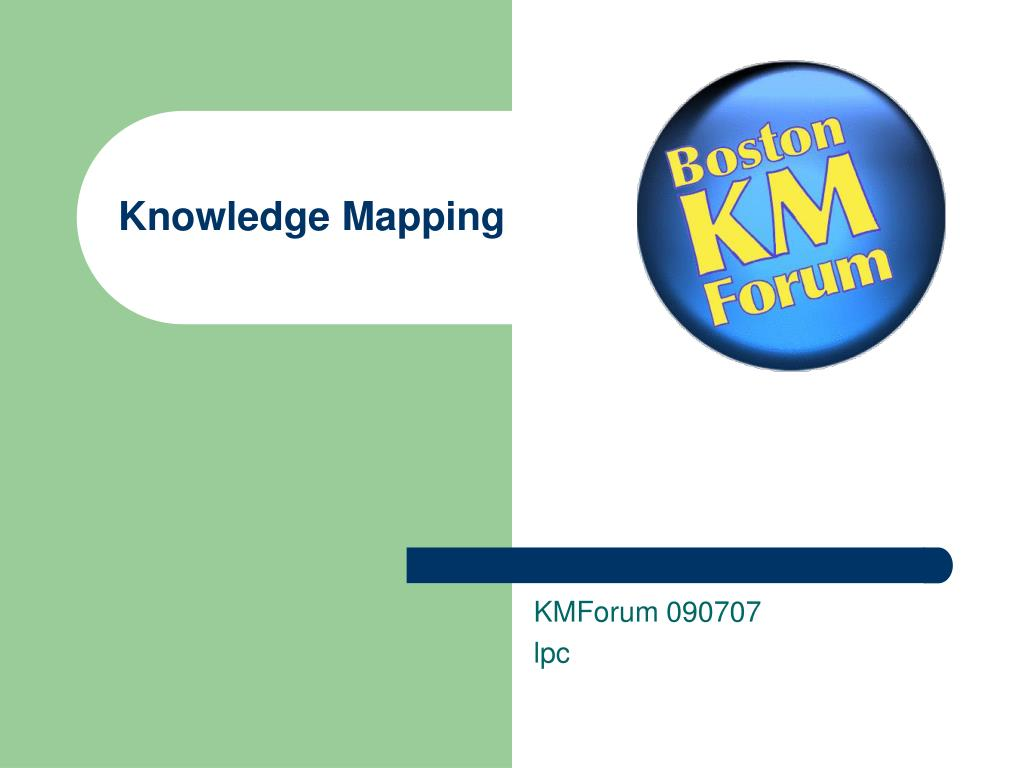 knowledge mapping l.
