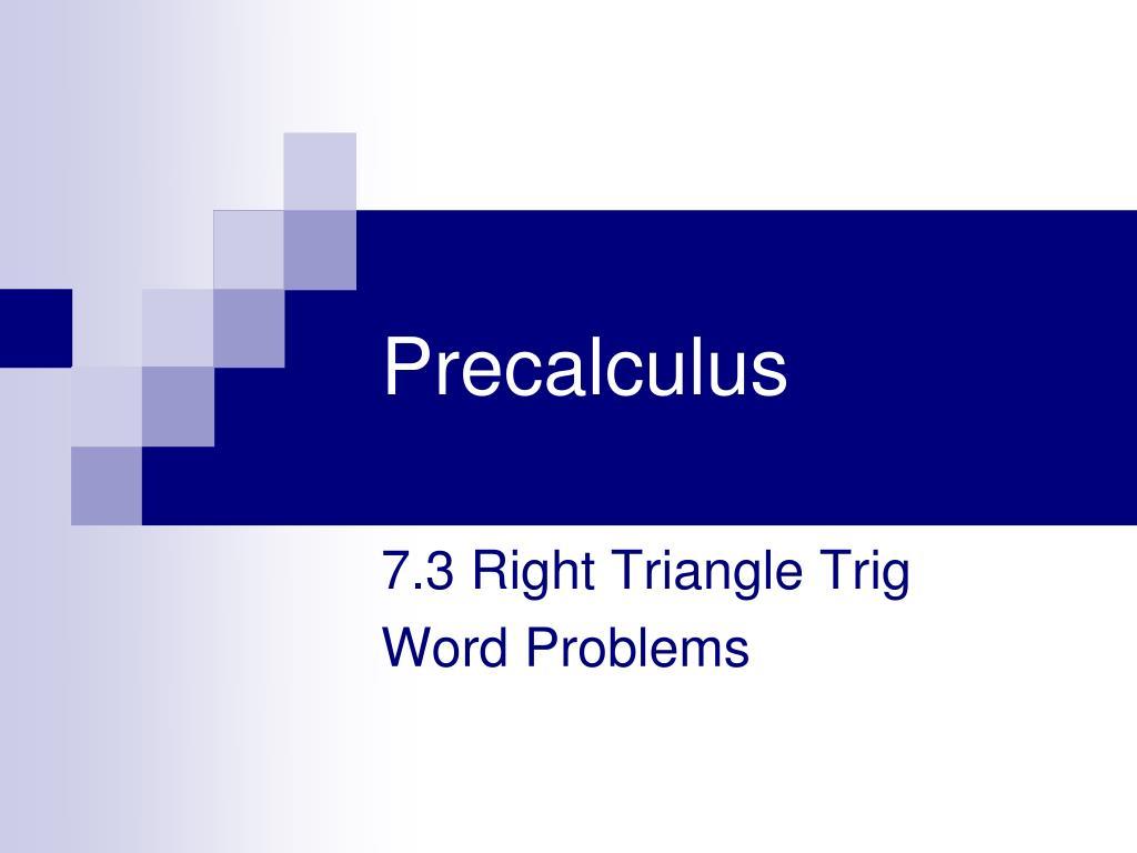 precalculus l.