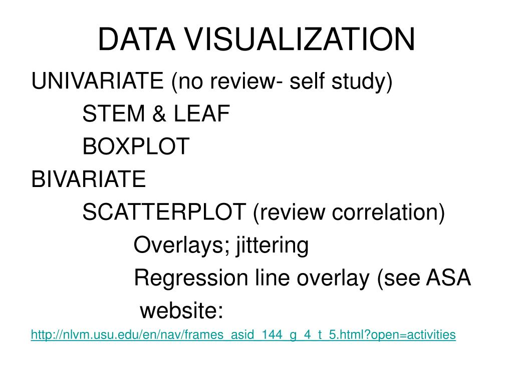 data visualization l.