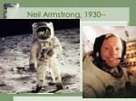 neil armstrong 1930