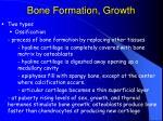 bone formation growth