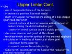 upper limbs cont63