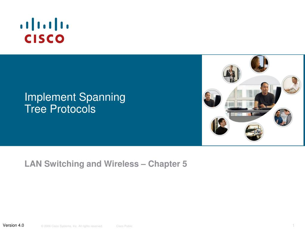 implement spanning tree protocols l.