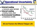 operational uncertainty