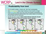 land in the climate system16