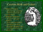 creation myth and culture