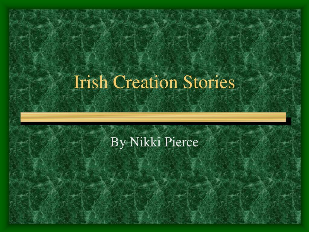 irish creation stories l.