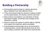 building a partnership27