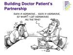 building doctor patient s partnership
