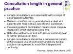 consultation length in general practice20