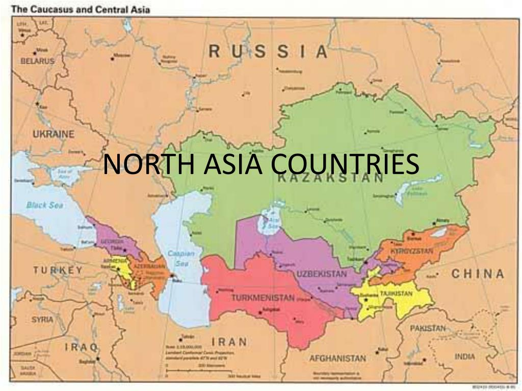 north asia countries l.