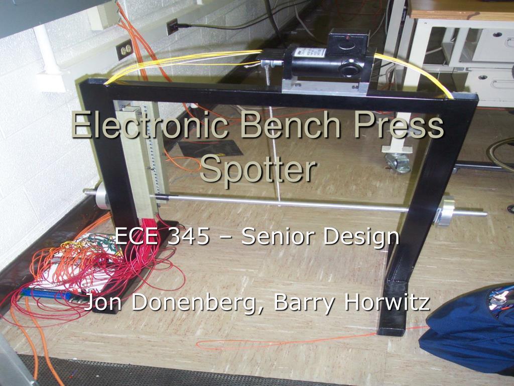 electronic bench press spotter l.
