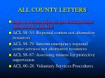 all county letters