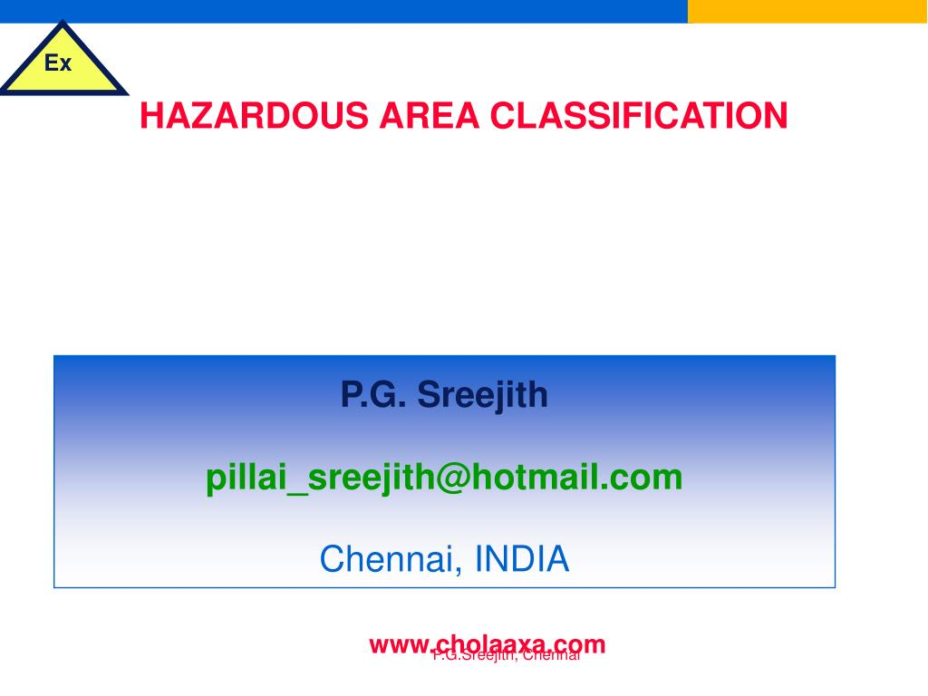hazardous area classification selection of electrical equipment for flammable atmospheres l.
