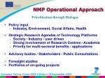 nmp operational approach
