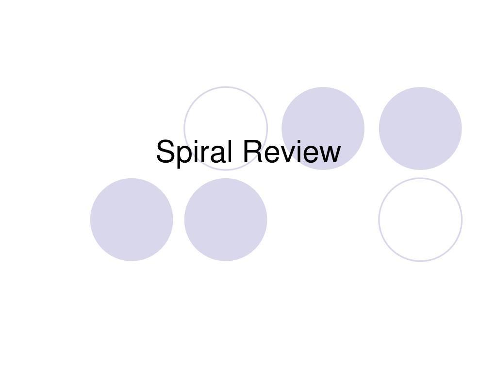 spiral review l.