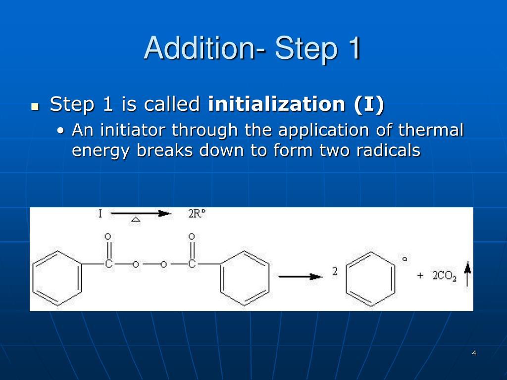 Addition- Step 1