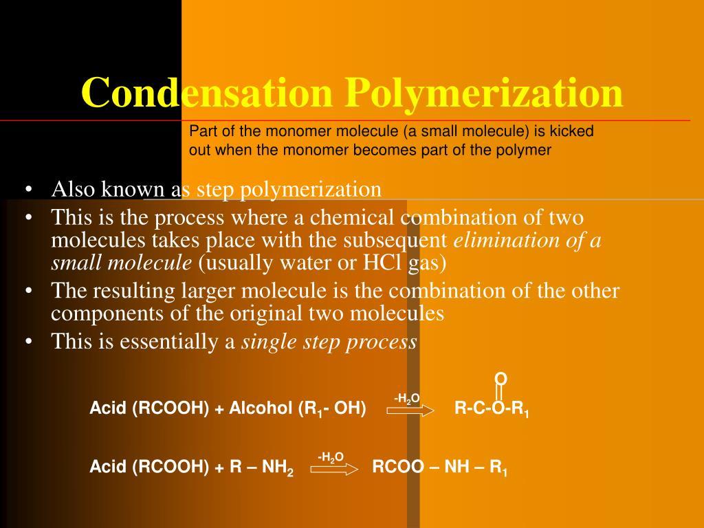 Condensation Polymerization