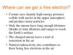 where can we get a free electron
