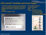 log alevel controller and power supply