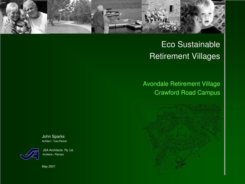 eco sustainable retirement villages avondale retirement village crawford road campus l.