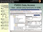 fmss data access28