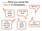 q4 results what you would like less of in geography