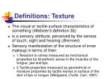 definitions texture