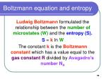 boltzmann equation and entropy39