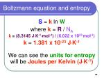boltzmann equation and entropy40