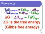free energy72