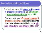 non standard conditions89