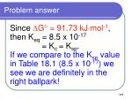 problem answer111