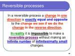reversible processes