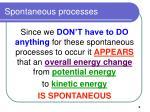 spontaneous processes5